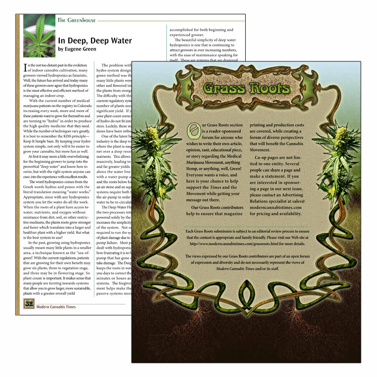 MCT Magazine Layout and Illustration