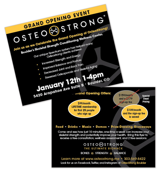 Osteostrong Promo Flyer