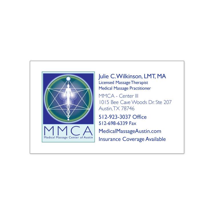 MMCA Business Card Design