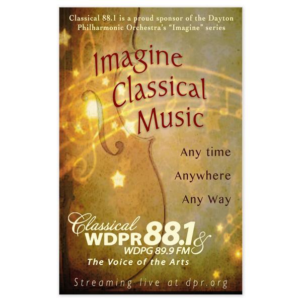 Imagine Classical Flyer / Promo Ad